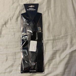 NWT Men's 1 inch Suspenders